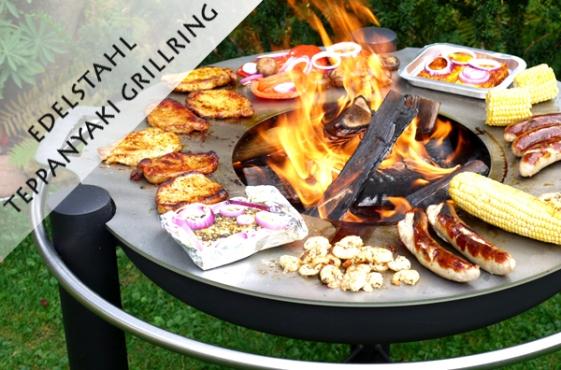 Grillring Teppanyaki Edelstahl