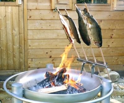 Steckerlfisch - Grillaufsatz 6017 Stockfisch