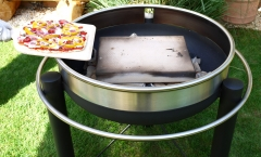 Pizza oven topper 8007